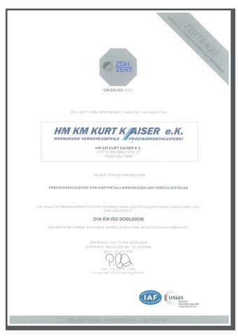 Zertifikat-2013-HMKM-KurtKaiser-small